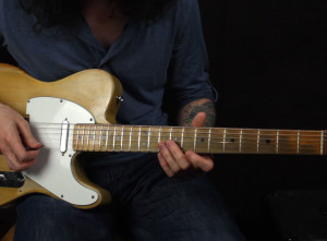 Классное Блюз Соло с 6 ступенью на гитаре разбор