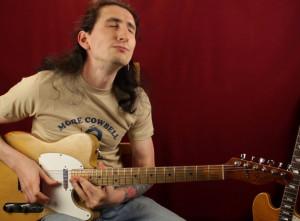 Слайд гитара в стандартном строе в стиле Мадди Уотерса