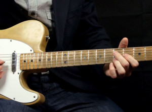 Медленный Блюз (Slow Blues) на гитаре