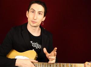 Как играть искусственные флажолеты на гитаре