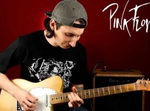 Легендарное второе соло Pink Floyd Comfortably Numb урок 2/2