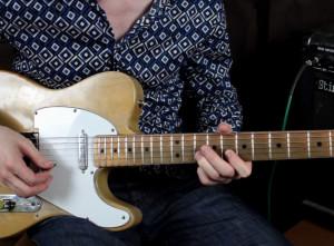 Как играть Хаммер он, Пулл офф и слайд на гитаре