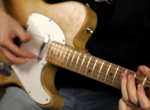 Блюзовая соло импровизация на гитаре