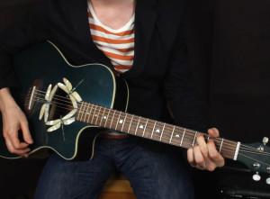 Как играть на гитаре The Beatles — Hard day's night