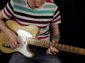 Как играть на гитаре интро Jimi Hendrix — Red House