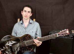Основы игры на слайд гитаре в открытом строе