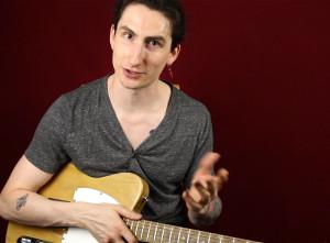 Как играть вертушки на гитаре рок импровизация