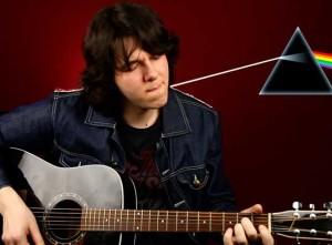 Как играть Pink Floyd Breathe на акустической гитаре