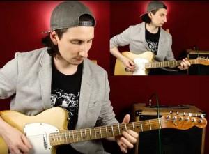 Как играть AC/DC Thunderstruck разбор на гитаре с табами