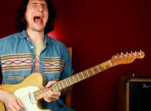 Как играть соло из песни AC/DC T.N.T.