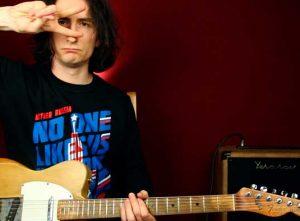 Как играть Blur Song 2 на гитаре урок для начинающих табы и аккорды