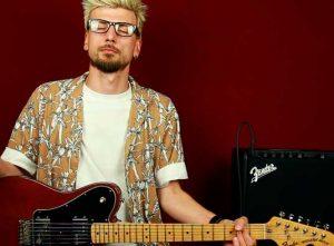 Как играть Radiohead Airbag на гитаре
