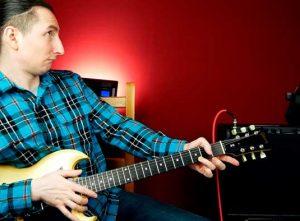 Самая блюзовая позиция на гитаре