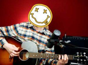 Как играть Nirvana About a Girl на гитаре